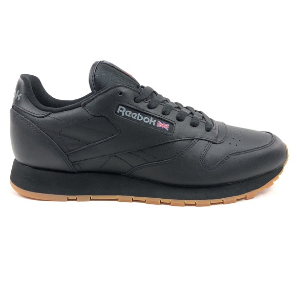 Reebok Other - Reebok Classic CL Leather Black Gum Shoes 49798